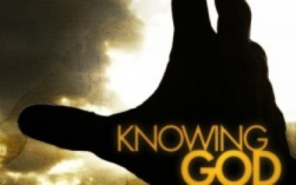 THE WONDER OF KNOWING GOD