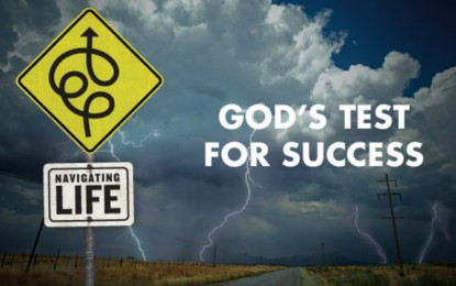 GOD APPRAISES SUCCESS